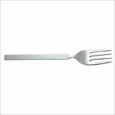 Alessi Dry Serving Fork in Mirror with Satin Handle by Achille Castiglioni
