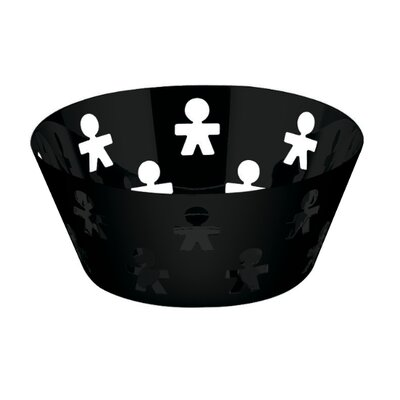 "Alessi Girotondo 3.5"" Round Basket by King Kong"