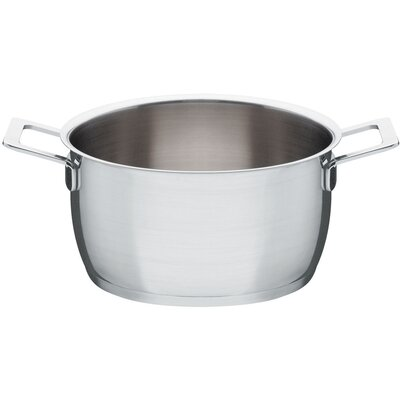 Alessi Pots and Pans 108 Oz. Round Casserole