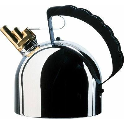 Alessi Water Kettle With Whistle