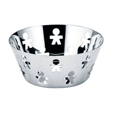 Alessi Girotondo Round Basket by King Kong - 8.1