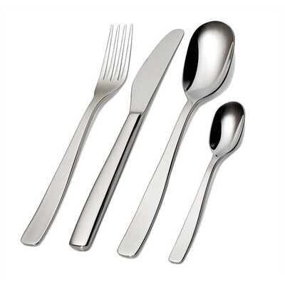 Alessi Knifeforkspoon 75 Piece Flatware Set by Jasper Morrison