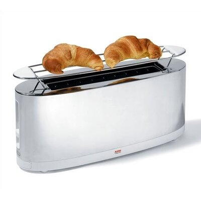 Alessi Stefano Giovannoni Toaster with Bun Warmer