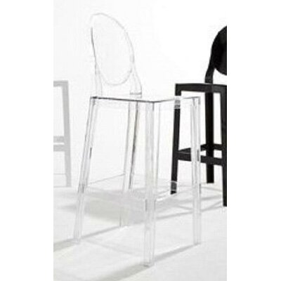 "Kartell ""One More, One More Please"" Stool with Oval Back"