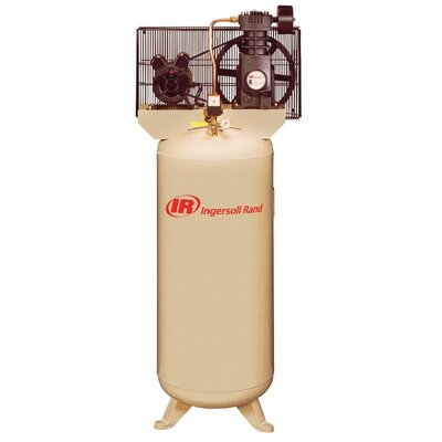 Ingersoll Rand Single Phrase Electric Driven Duplex Air Compressor 2-2475E7.5V-FP