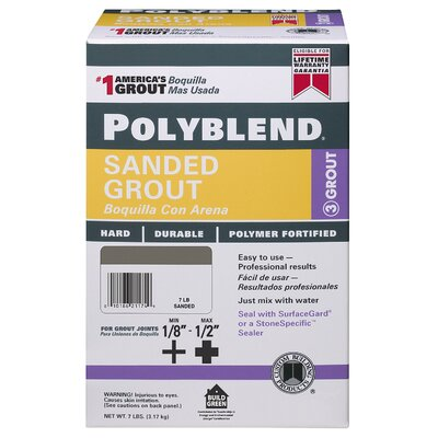 Custom Building Products 7 Lb Brown #50 Polyblend® Sanded Grout PBG507-4