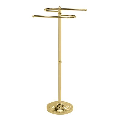 Gatco Classic Floor S-Towel Holder