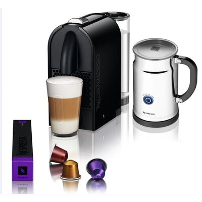 Nespresso U Espresso Maker with Aeroccino Plus Milk Frother Bundle