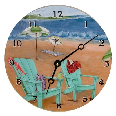 Lexington Studios Skinny Dipping Decorative Wall Clock