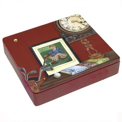 Lexington Studios Always Time For Golf  Decorative Storage Box