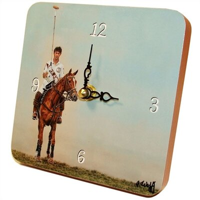 Lexington Studios Polo Tiny Times Clock