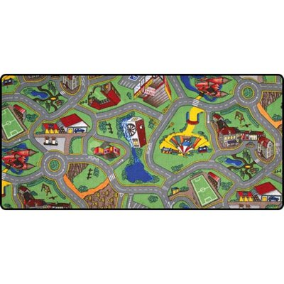 Learning Carpets My Hometown Play Kids Rug