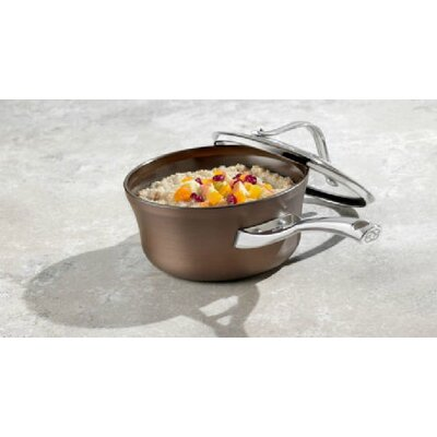 Contemporary Bronze Anodized Edition 1.5-qt. Saucepan with Lid