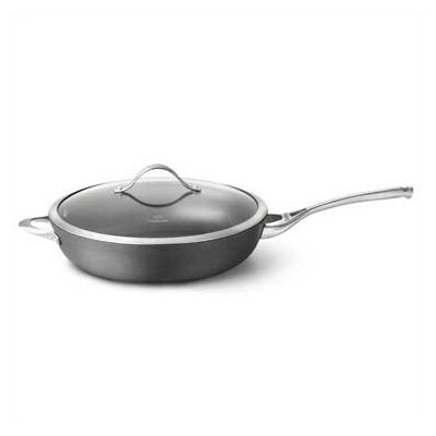 "Calphalon Contemporary Nonstick 13"" Non-Stick Fry Pan with Lid"