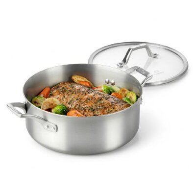 Calphalon AcCuCore 5 Quart Dutch Oven with Cover