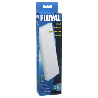 Hagen Fluval Filter Foam Block (2 Pack)