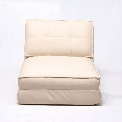 Gold Sparrow Baltimore Leather Chair Bed
