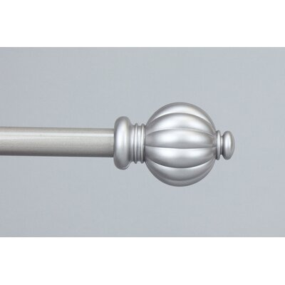 Rod Desyne Classic Pumpkin Curtain Rod and Hardware Set