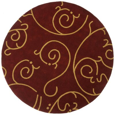 St. Croix Structure Archer Burgundy/Gold Rug