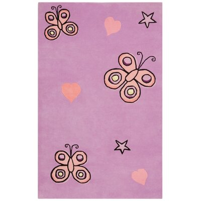St. Croix Playful Butterfly Kisses Kids Rug