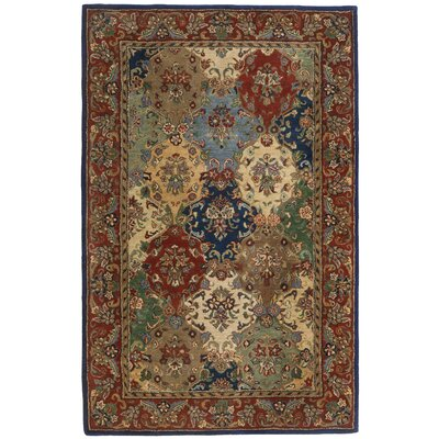 St. Croix Traditions Baktarri Navy Multi Rug