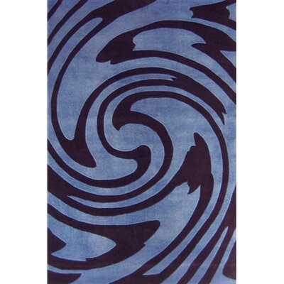 American Home Rug Co. Modern Living Jazzy Blue/Black Rug