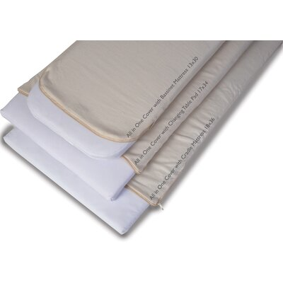 Natural Cotton Changing Table Pad
