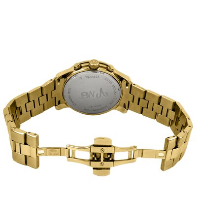 JBW Men's Delano Watch in Gold with Brown Dial