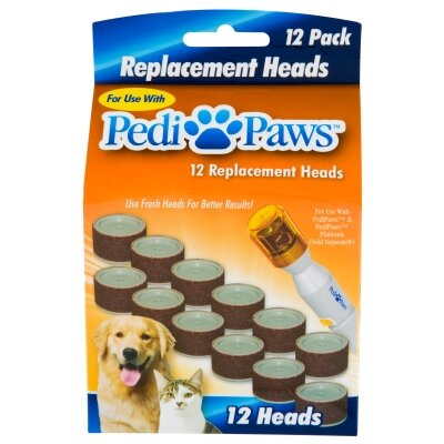 Pedi-Paws 12 Pack of Nail Clipper Replacement Heads