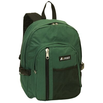 "Everest 16.5"" Backpack with Front Mesh Pocket"
