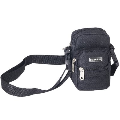 "Everest 6"" Camera Bag in Black"
