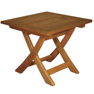 Blue Star Group Terrace Mates Aspen Folding Square Side Table