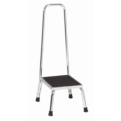 Brewer Step Stool With Handrail