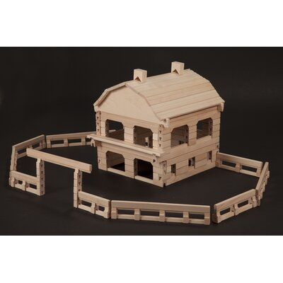 Stack and Stick Friendly Farm Building Set