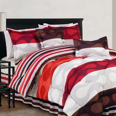 Donelly 6 Piece Comforter Set