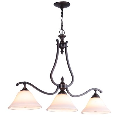 Devonshire 3 Light Kitchen Island Pendant