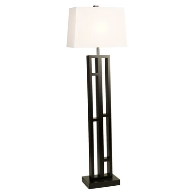 "DVI Urban Living 12.5"" Floor Lamp in Espresso"