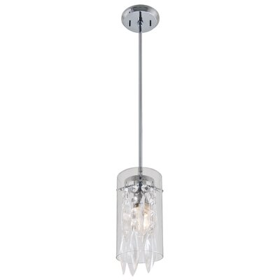Essex Crystal 1 Light Mini Pendant