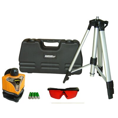 Johnson Level and Tool Manual-Leveling Rotary Laser Kit