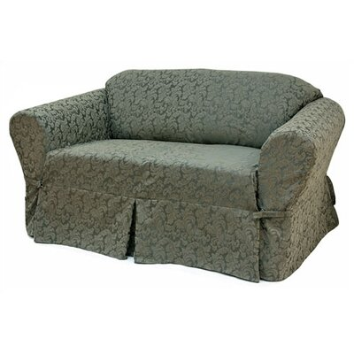 Damask Chair Slipcover