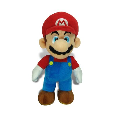 Goldie Marketing Super Mario Large Mario Plush