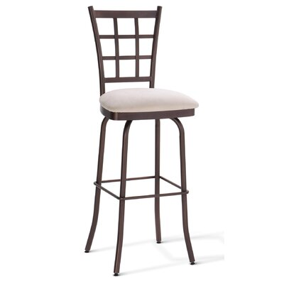 "Amisco Jamie 26"" Swivel Counter Stool"