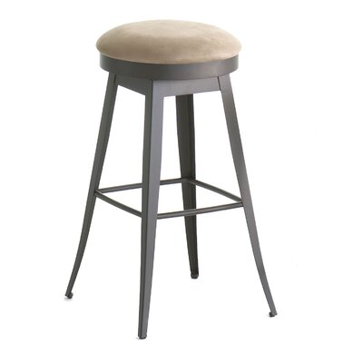 "Amisco Grace 26"" Swivel Counter Stool"