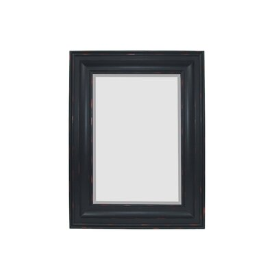 Majestic Mirror Contemporary Rectangular Bevel Wall Mirror