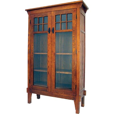 Oriental Furniture Bookcase Entertainment Cabinet
