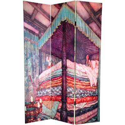 Oriental Furniture 6 Feet Tall Double Sided Princess Fairy Tale Room Divider