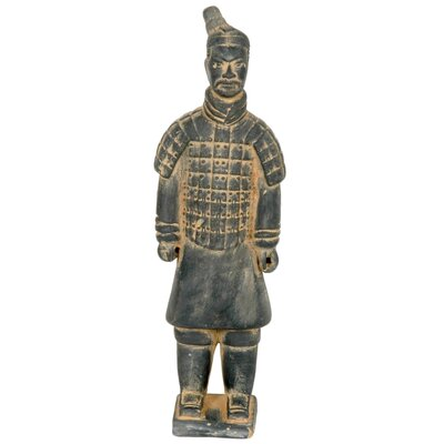"Oriental Furniture 20"" Xian Terra Cotta Warrior Statue"