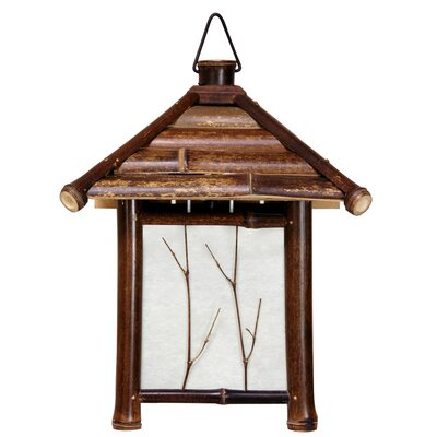 Oriental Furniture Japanese Pagoda 1 Light Lantern