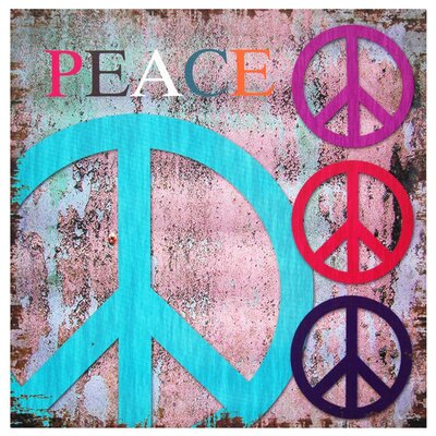 Peace Canvas Wall Art - 19.75