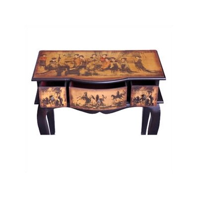 Oriental Furniture Ladies Tea Time Display Table